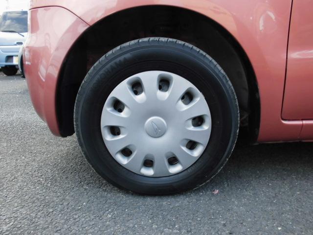 タイヤは安心の国産エコタイヤ!