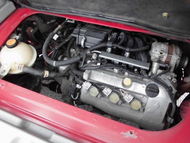 リアエンジンもオイル漏れもありません!