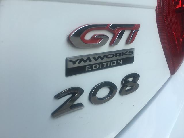 プジョー プジョー 208 GTi 6速 HID ムスケティアマフラー レーシングライン