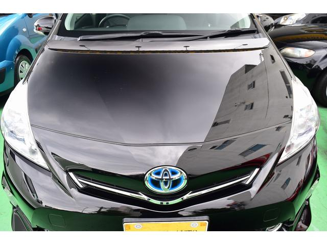 トヨタ プリウスアルファ Gツーリングセレクション7人モデリスタ SR LED ナビ