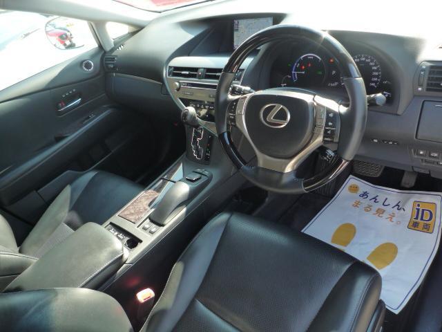 レクサス RX RX450h バージョンL1オーナー黒革エアシートサンルーフ