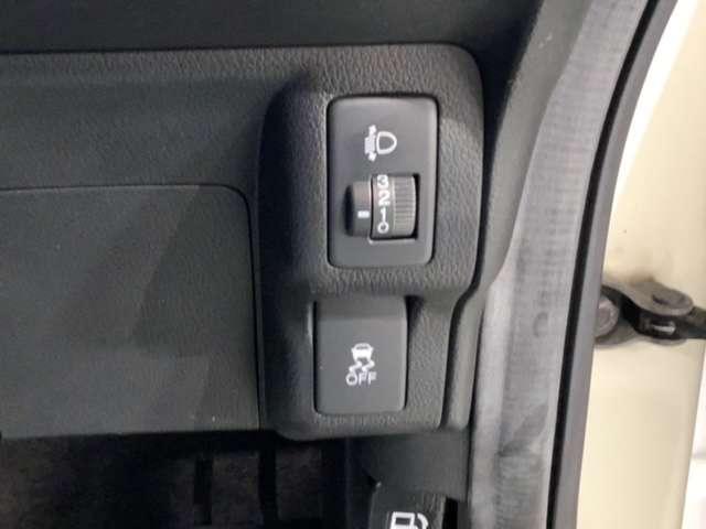 横滑り防止装置VSAがついてます。いざという時に安心ですね。