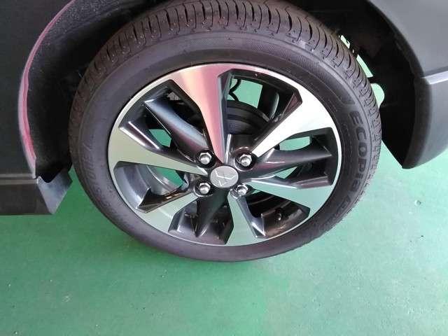純正15インチアルミホイール+165/55R15(BRIDGESTONE エコピア EP150)タイヤ装着