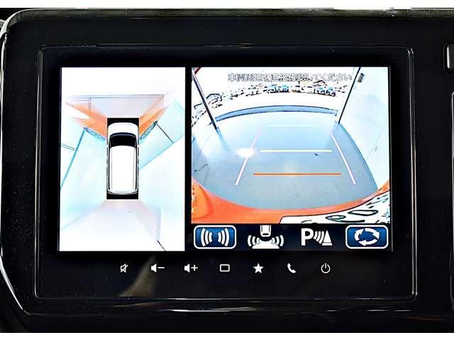 カスタムハイブリッドMV全方位カメラ付ナビパッケージ 2WD ・スマートフォン連携9インチナビ・マルチアラウンドモニター・ヘッドアップディスプレイ・LEDヘッド&ポジション+LEDフォグ・両側電動スライドドア・両席シートヒーター・パーキングソナー・(4枚目)