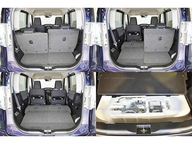 カスタムハイブリッドSV 全方位カメラパッケージ 2WD ・CDステレオ・パドルシフト・両側電動スライドドア・両席シートヒーター・LEDヘッドライト+LEDフォグランプ・nano-e搭載フルオートエアコン・シートバックテーブル・ロールサンシェード(14枚目)