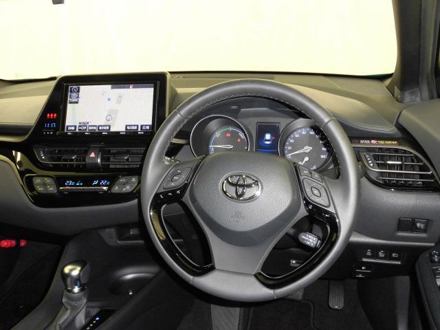 トヨタ C-HR ハイブリッドS 9インチナビ バックカメラ ETC