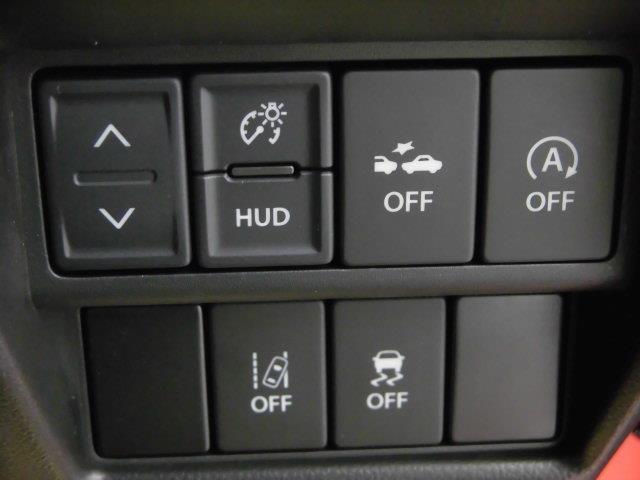 各種機能スイッチです。