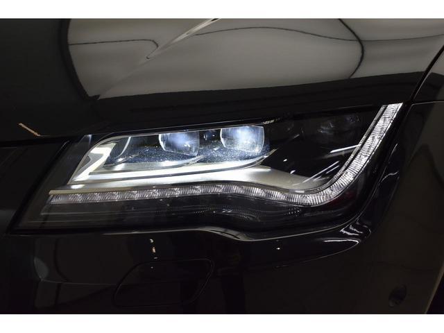 3.0TFSIクワトロ 1オーナー LEDヘッドライト 純正オプション20インチAW パーキングアシスト コーナービューモニター 純正ナビTV 黒革シート シートヒーター パワーシート(10枚目)