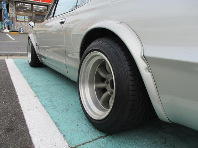 GT GT-R仕様15インチワタナベアルミ L20改2.6L(5枚目)
