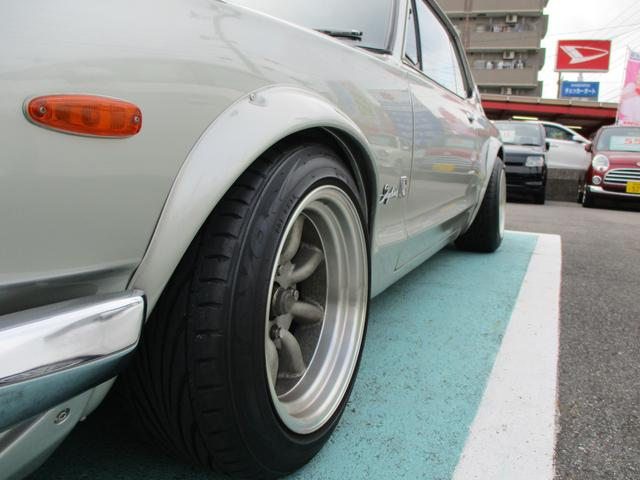 GT GT-R仕様15インチワタナベアルミ L20改2.6L(6枚目)