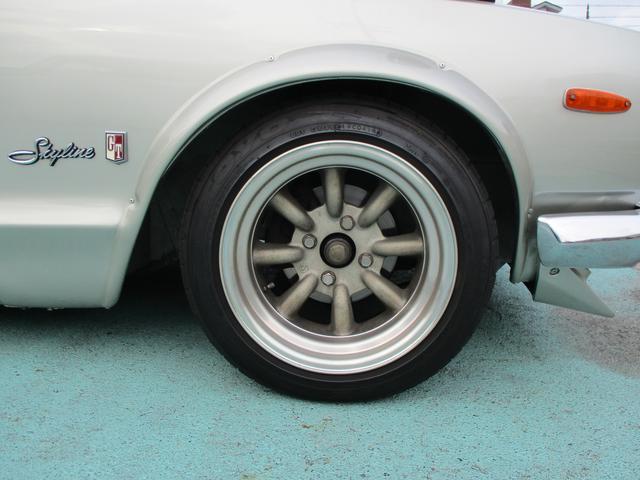 GT GT-R仕様15インチワタナベアルミ L20改2.6L(8枚目)