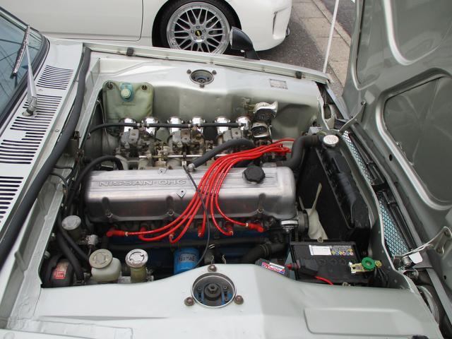 GT GT-R仕様15インチワタナベアルミ L20改2.6L(9枚目)