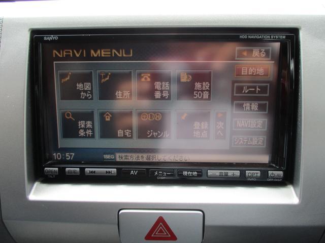スズキ ワゴンR FX 地区限定車 社外HDDナビ 禁煙車 ベンチシート