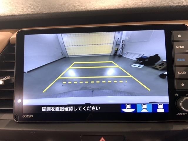 e:HEVリュクス ホンダセンシング 禁煙 当社試乗車 純正AW LED オ-トライト シ-トヒ-タ- ETC ギャザズナビVXU-205FTi Rカメラ フルセグ DVD USB BTaudio(16枚目)