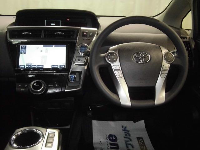 トヨタ プリウスアルファ S5人地デジ8インチSDDVD再生バックカメラETCドラレコ