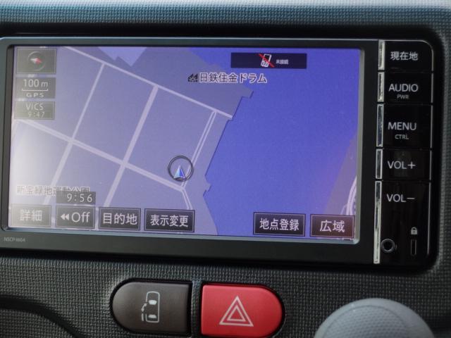 トヨタ スペイド F クイーン 純正SDナビ バックカメラ アイドルストップ