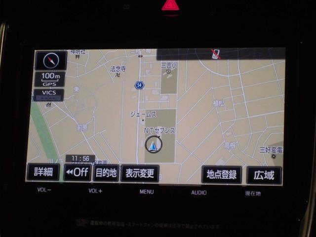 トヨタ ハリアー プレミアム メモリーナビ フルセグTV LEDヘッドライト