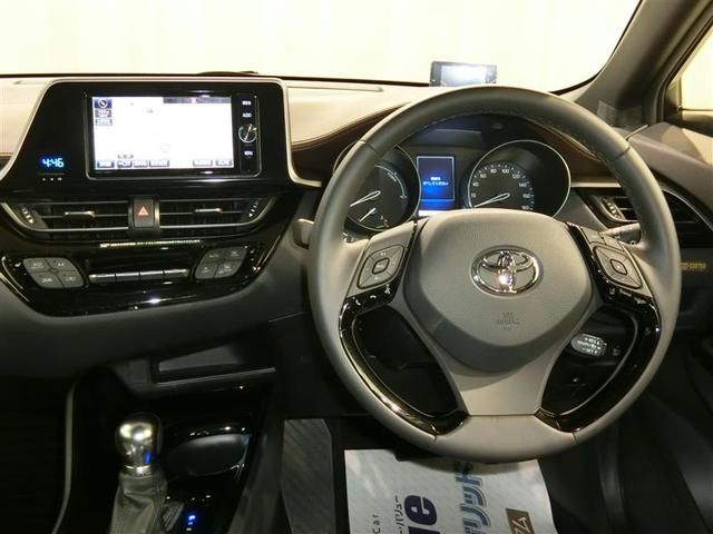 トヨタ C-HR G LEDエディション メモリーナビ フルセグTV ETC