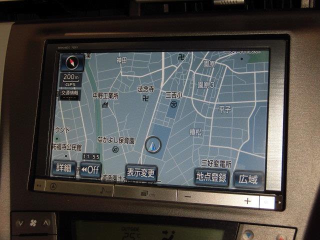 S フルセグ HDDナビ バックカメラ ETC HIDヘッドライト(9枚目)