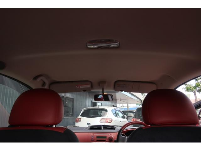 S レザー&アルカンターラセレクション HIDヘッド MINILITE15inchアルミ ワンオーナー車 オートエアコン コンビ革巻ステアリング&シフトレバー アルミペダル キーレス&スペアーキー(40枚目)