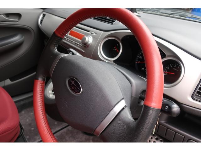 タイプS 4WD スーパーチャージャー HIDヘッド YUPITERUポータブルナビ地デジ 前後2カメラドライブレコーダー ETC オートエアコン 純正15inchアルミ キーレス 赤黒革巻ハンドル&シフトレバ(31枚目)
