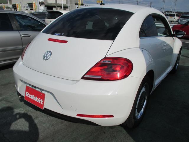 フォルクスワーゲン VW ザ・ビートル デザイン オプションアルミ 禁煙 1オーナー ナビTV