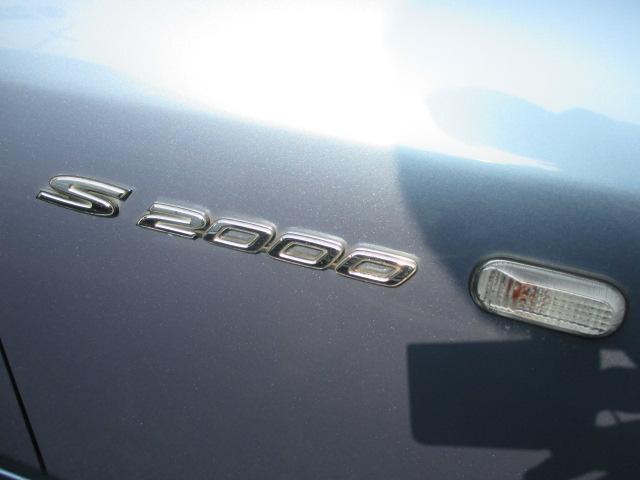 ホンダ S2000 ベースグレード 6速 社外18AW 赤レザーシート