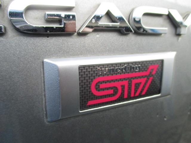 スバル レガシィツーリングワゴン tuned by STI600台限定車 エアロ STIパーツ