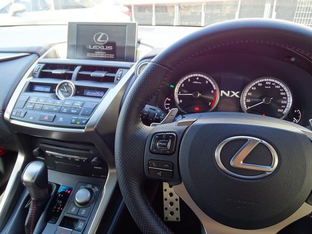 レクサス NX NX200t Fスポーツ 新色グラファイトブラックGF
