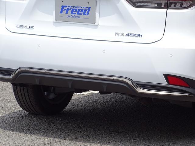 RX450h Fスポーツ 4WD 新型後期 パノラマビュー(33枚目)