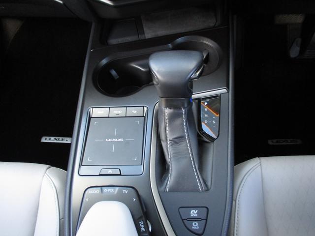UX250h バージョンC 禁煙車 18インチアルミホイール ルーフレール ドライブレコーダーフロアマットタイプA サイドバイザー LEDヘッドライト 前席パワーシート  Ltexシート シートヒーター(14枚目)