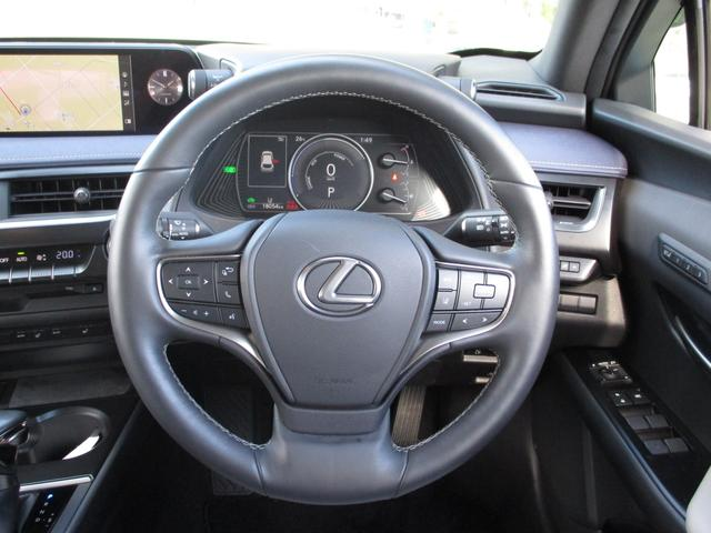 UX250h バージョンC 禁煙車 18インチアルミホイール ルーフレール ドライブレコーダーフロアマットタイプA サイドバイザー LEDヘッドライト 前席パワーシート  Ltexシート シートヒーター(17枚目)