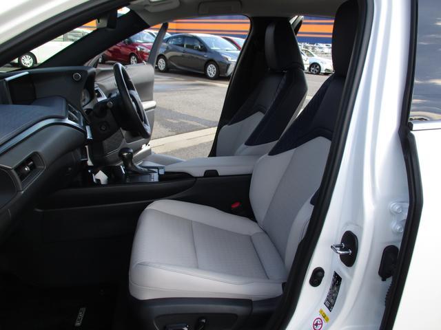 UX250h バージョンC 禁煙車 18インチアルミホイール ルーフレール ドライブレコーダーフロアマットタイプA サイドバイザー LEDヘッドライト 前席パワーシート  Ltexシート シートヒーター(22枚目)