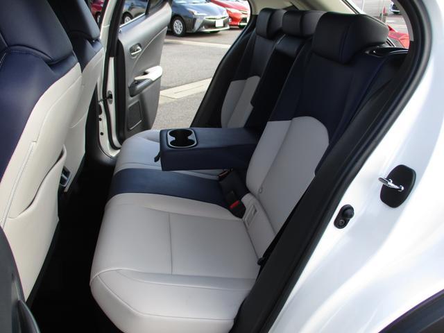 UX250h バージョンC 禁煙車 18インチアルミホイール ルーフレール ドライブレコーダーフロアマットタイプA サイドバイザー LEDヘッドライト 前席パワーシート  Ltexシート シートヒーター(23枚目)