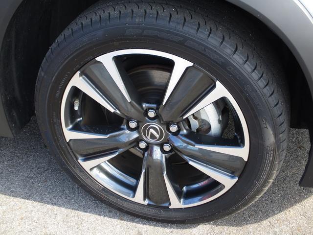 UX250h バージョンC 禁煙車 18インチアルミホイール ルーフレール ドライブレコーダーフロアマットタイプA サイドバイザー LEDヘッドライト 前席パワーシート  Ltexシート シートヒーター(26枚目)