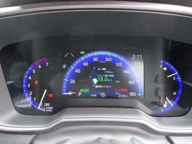 ハイブリッド ダブルバイビー 禁煙車 TRDフルエアロ Tコネクト9インチナビ バックカメラ BSM RCTA ヘッドアップディスプレイ LEDヘッドライト ハーフレザーシート ETC レーダークルコン(14枚目)