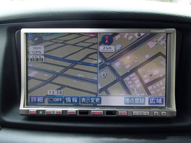 X 社外HDDナビ 地デジ 社外アルミ(14枚目)