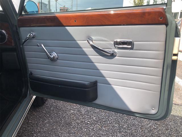 クーパー 4速MT Hi-Loコイルスプリング公認 色替全塗装済 ルーフライナー張替済 モトリタウッドステアリング 1年保証(22枚目)