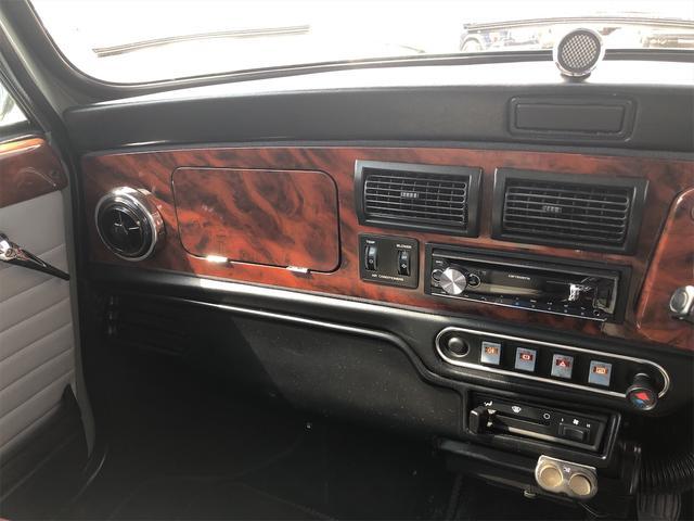 クーパー 4速MT Hi-Loコイルスプリング公認 色替全塗装済 ルーフライナー張替済 モトリタウッドステアリング 1年保証(33枚目)