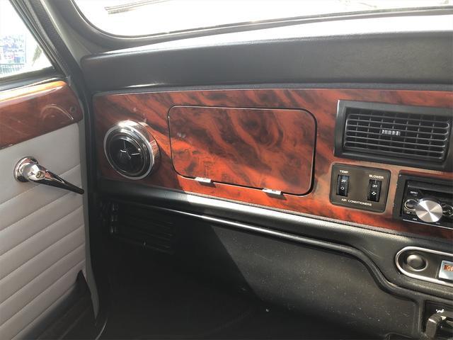 クーパー 4速MT Hi-Loコイルスプリング公認 色替全塗装済 ルーフライナー張替済 モトリタウッドステアリング 1年保証(35枚目)