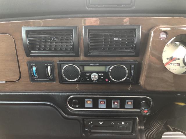 クーパー 4速AT 色替全塗装済 ルーフライナー張替済 前後Hi-Loコイルスプリング 前後CABANA製シートカバー ウッドコンビステアリング 1年保証(33枚目)