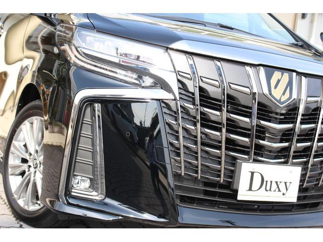 2.5S タイプゴールド 特別仕様車 新車 Duxyコンプリート ナビ&12.1型後席モニター ハーフレザーシート パワーバックドア 3眼LEDヘッド ETC 衝突回避支援(10枚目)