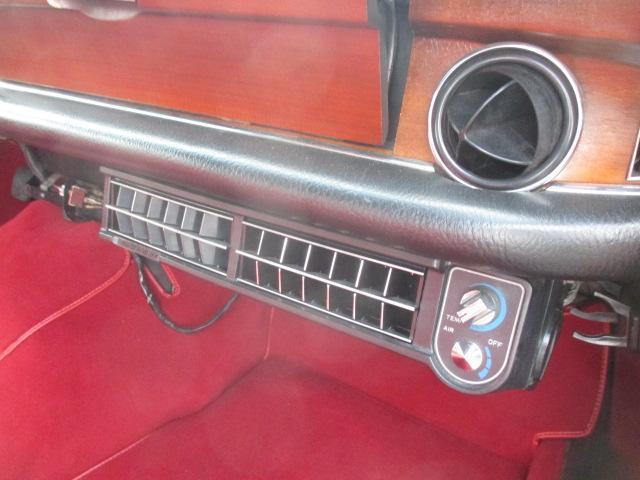 280S D車 内外装レストア クーラー 自社顧客下取車(16枚目)