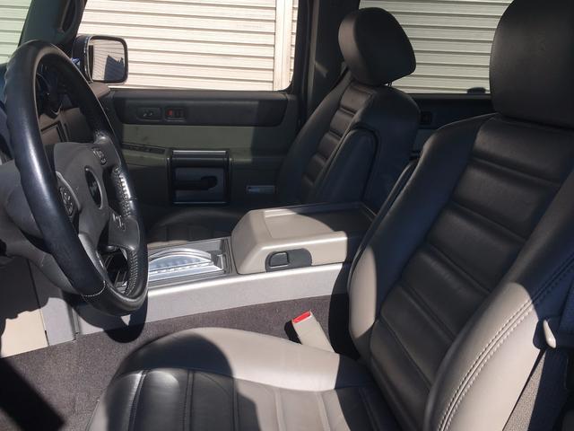 ハマー ハマー H2 ラグジュアリーパッケージ 4WD 革シート サンルーフ