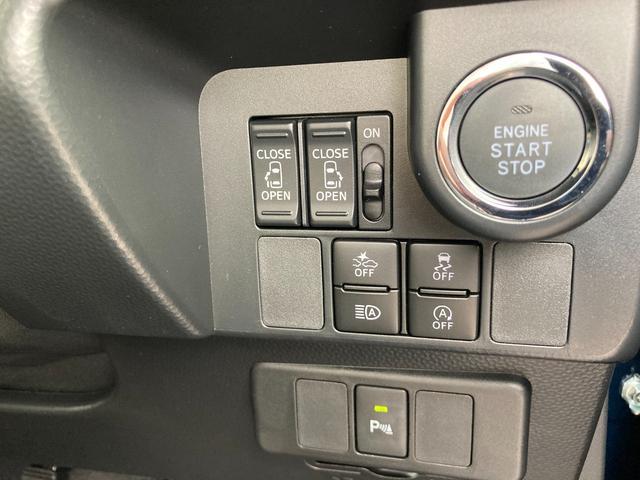 カスタムG 新車未登録 両側電動スライド LEDライト オートライト 衝突軽減ブレーキ ウォークスルー アルミホイール(18枚目)
