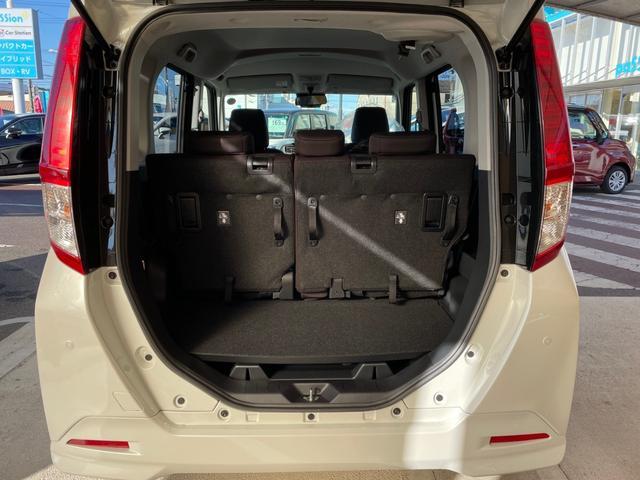X 新車未登録 ナビレディパッケージ 衝突軽減ブレーキ コーナーセンサー 片側電動スライドドア オートライト スマートキー アイドリングストップ プッシュスタート バックカメラ(12枚目)