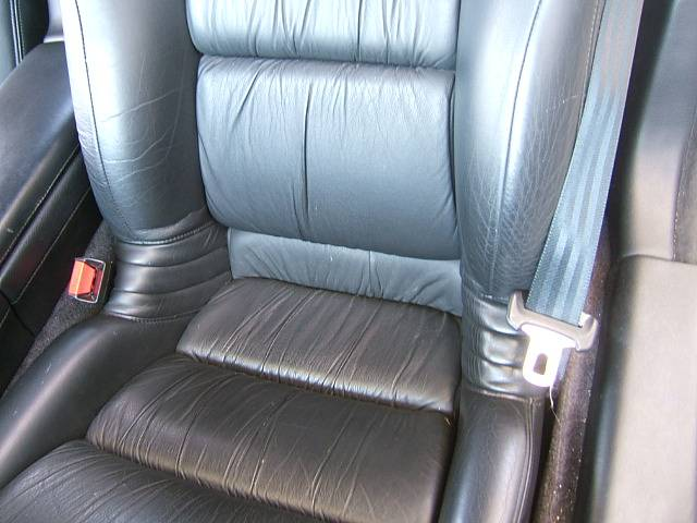 ホンダ NSX ベースグレード 黒革シート 16AW