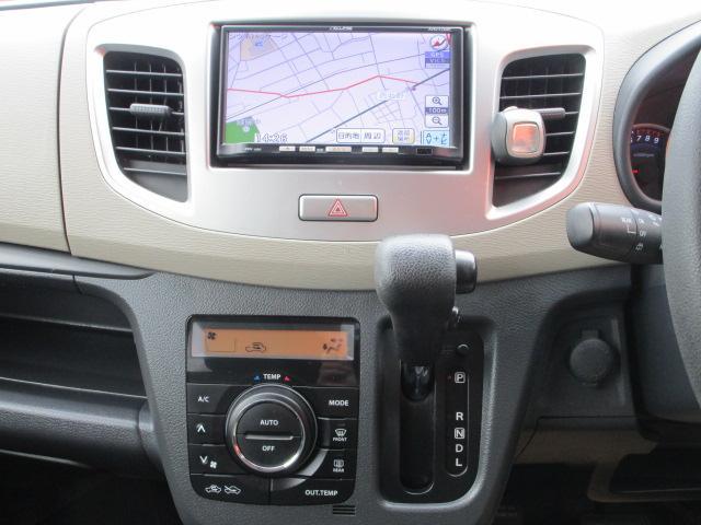 FX メモリーナビ/キーレス/アイドリングストップ/ベンチシート/ETC/USB/盗難防止装置/電動式格納ミラー/運転席・助手席エアバック/プライバシーガラス/ABS/禁煙車/エアコン(10枚目)