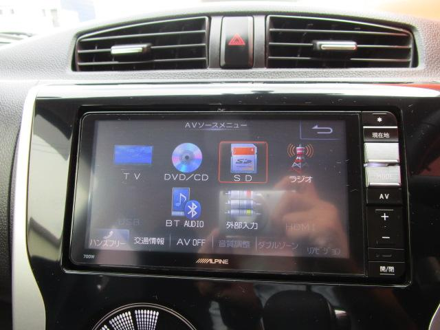 SDナビ/フルセグ/バックカメラ/スマートキー/ベンチシート/DVD/Bluetooth/CD/ETC/アルミホイール/オートライト/HID/電動式格納ミラー/ベンチシート/ABS/エアバック(7枚目)