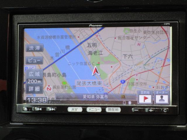 L SDナビ/フルセグ/Bカメラ/スマートキー/ETC/Bluetooth/盗難防止装置/CD/DVD/電動式格納ミラー/運転席・助手席エアバック/プライバシーガラス/エアコン/パワーウィンドウ(8枚目)